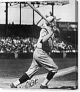 National Baseball Hall Of Fame Library 197 Canvas Print