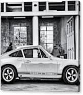 1972 Porsche 911 Monochrome Canvas Print