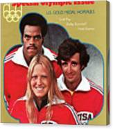 1976 Montreal Olympic Games Preview Sports Illustrated Cover Canvas Print