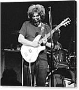 1977, Atlanta, Jerry Garcia Canvas Print