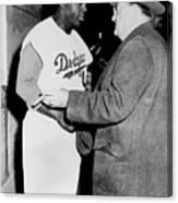 National Baseball Hall Of Fame Library 198 Canvas Print