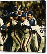 1986 World Series Mets Canvas Print