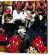1992 Nba Finals Portland Trailblazers Canvas Print