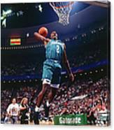 1992 Slam Dunk Contest Larry Johnson Canvas Print