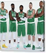 2018-19 Boston Celtics Media Day Canvas Print
