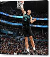 2019 At&t Slam Dunk Contest Canvas Print