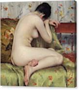 A Modern Magdalen Canvas Print