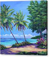 At The Island's End Canvas Print