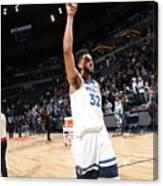 Atlanta Hawks V Minnesota Timberwolves Canvas Print