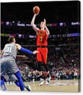 Atlanta Hawks V Philadelphia 76ers Canvas Print