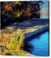 Autumn Colors In Kearney Lake Canvas Print