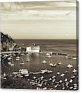 Avalon Harbor - Catalina Island, California Canvas Print