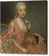 Baroness De Neubourg-cromiere Canvas Print