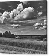 Beautiful Iowa Farm Scene Canvas Print