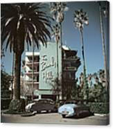 Beverly Hills Hotel Canvas Print