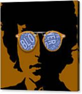 Bob Dylan Blowin In The Wind Canvas Print