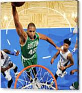 Boston Celtics V Orlando Magic 2 Canvas Print