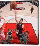 Boston Celtics V Portland Trail Blazers Canvas Print