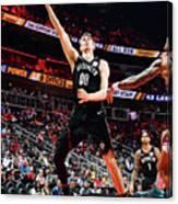 Brooklyn Nets V Atlanta Hawks Canvas Print