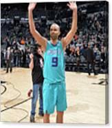 Charlotte Hornets V San Antonio Spurs Canvas Print