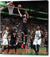 Chicago Bulls V Boston Celtics - Game Canvas Print