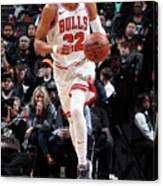 Chicago Bulls V Brooklyn Nets Canvas Print