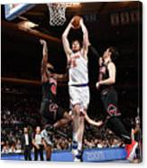 Chicago Bulls V New York Knicks Canvas Print
