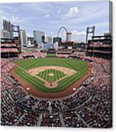 Cincinnati Reds V. St. Louis Cardinals Canvas Print