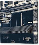 City News - Mansfield, Ohio Canvas Print