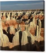 Coal Mine Canyon Near Tuba City Canvas Print