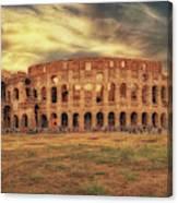 Colosseo, Rome Canvas Print