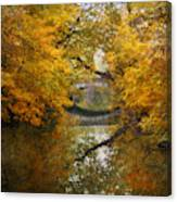 Country Bridge Canvas Print