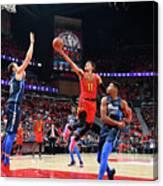 Dallas Mavericks V Atlanta Hawks Canvas Print