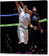 Dallas Mavericks V Denver Nuggets Canvas Print
