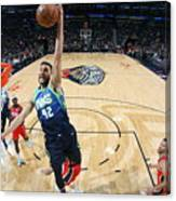 Dallas Mavericks V New Orleans Pelicans Canvas Print