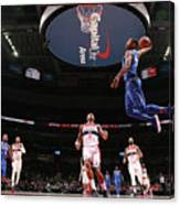 Dallas Mavericks V Washington Wizards Canvas Print