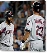 Divisional Round - Cleveland Indians V Canvas Print