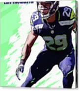 Earl Thomas,seattle Seahawks. Canvas Print