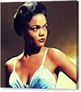 Eartha Kitt, Hollywood Legend Canvas Print