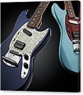 Fender Kurt Cobain Mustang Electric Canvas Print