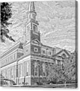 First Baptist Church Columbia Canvas Print