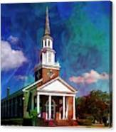First Baptist Church Myrtle Beach S C Canvas Print