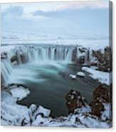 Godafoss - Iceland Canvas Print