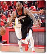 Golden State Warriors V Houston Rockets Canvas Print