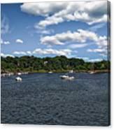 Greenwich Bay Canvas Print