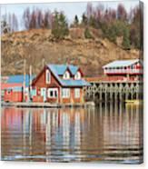 Halibut Cove Kenai Peninsula Alaska Canvas Print