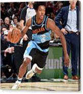 Houston Rockets V Cleveland Cavaliers Canvas Print