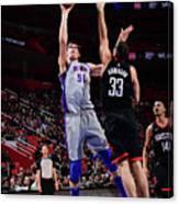 Houston Rockets V Detroit Pistons Canvas Print