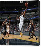 Indiana Pacers V Memphis Grizzlies Canvas Print