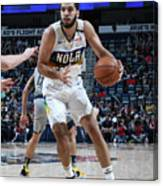 Indiana Pacers V New Orleans Pelicans Canvas Print